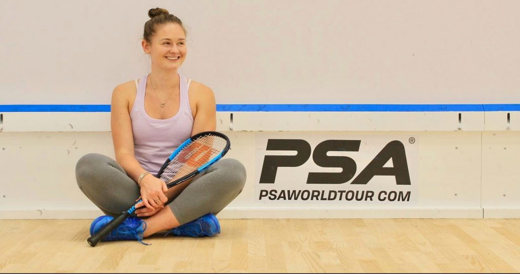 Hollie Naughton on Squash: From England to Canada