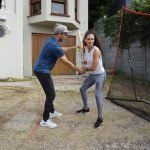Gio Colussi and Coco: Teaching a Brazilian model how to bat in 21 days