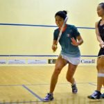 We still have to explain that Squash is like Racquetball: Nayelly Hernandez