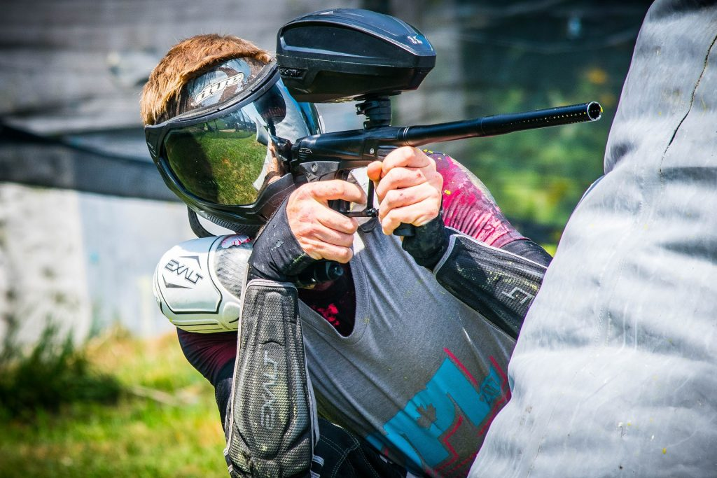 Paintball shooter image
